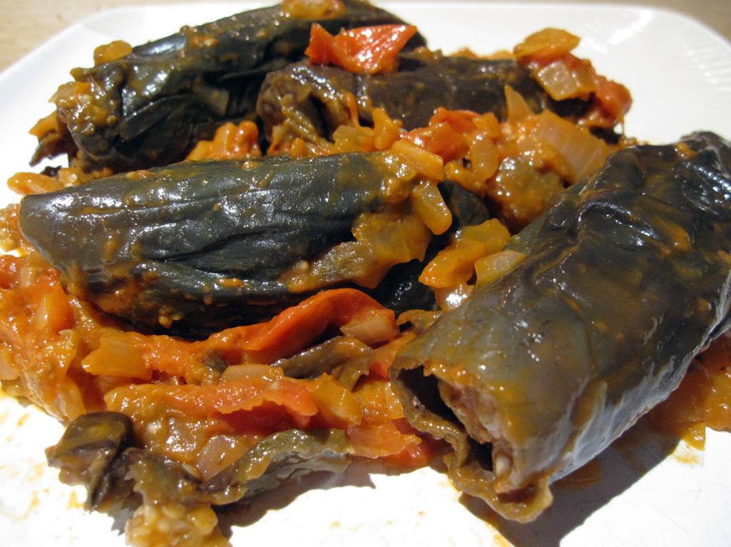 recettes libanaises – legumes et chocolat